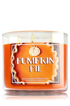 Pumpkin Pie 3-Wick Candle - Home Fragrance 1037181 - Bath & Body Works