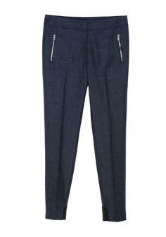 QL2 - MARIELE SKINNY ZIP DETAILS PANT  (HI MARIELE!) #women's #fashion