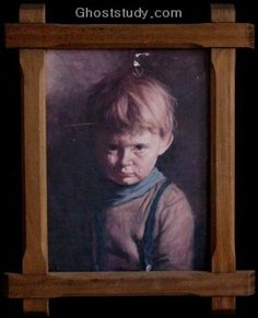 It all began around 1985, when several mysterious fires occurred in England. Only thing that survived the fires was painting of a little boy with a tear rolling his cheek.   There were several of these paintings around.  And each home would be totally destroyed but the painting of the little crying boy would not show any sign at all of going through a fire. There have been reports of the crying boy painting being found in burnt homes untouched since 1985 and as recent as 1998.