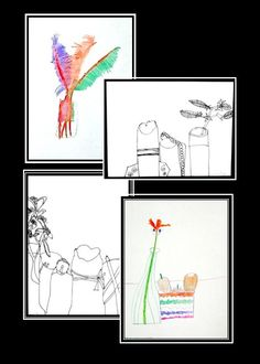 Still Life for Kids - two science-connected art lessons focusing on observation of details.