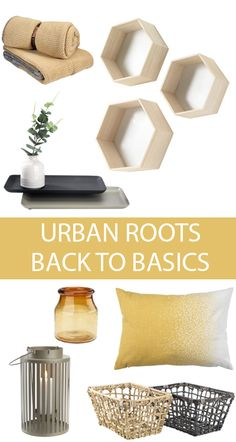 Add some spring styling to your home this year with the urban roots trend.  Lots 1848129952303