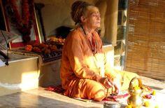 Mataji meditating