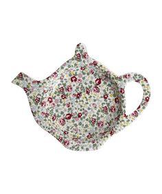Chintz teabag holder Teapots And Cups, Teacups, Tea Glasses, Tea Pot Set, Tea Cozy, Tea Art, Liberty Print, Chocolate Pots, Tea Accessories