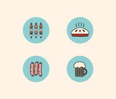 Flat Icons | Choco la Design