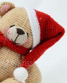 My Forever Friends Christmas Bear - MyKrissieDolls