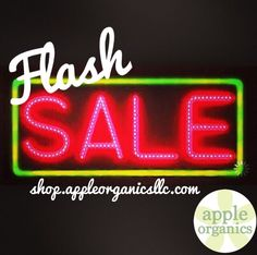FLASH SALE! Take 20% off your entire purchase. Sale ends at midnight...don't wait, shop now! Visit shop.appleorganicsllc.com and use code: FLASH20 at checkout. #Sale #AnAppleADay #OrganicSkincare #Vegan #CrueltyFree #Beauty #SkinCare #SmallBatch #GreenBeauty #Love #OrganicLiving #MadeWithLove #ShopSmall #GreenvilleSC #yeahTHATgreenville #InspiredByNatureImprovedByScience #AppleOrganics