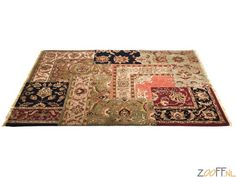 Kare Design Perzisch Carpet / Tapijt / Vloerkleed - Een uniek stukje vakmanschap, handgemaakt van 100% wol, geeft een gezellige, warme sfeer in uw ruimte. Tip: Mooi te combineren met onze zitmeubels in Chesterfield stijl.