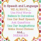 Live Love Speech: In Speech and Language, We Always...Poster {FREEBIE}