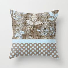 Outdoor Pillow Paris and Polka Dots by frenchscript on Etsy