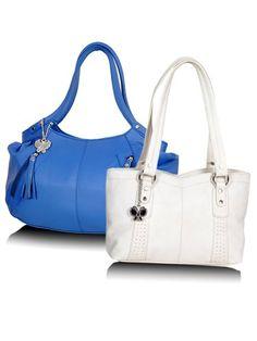 Papillons Sac à main bleu et blanc (BNS CB001): Amazon.in: Chaussures et sac à main