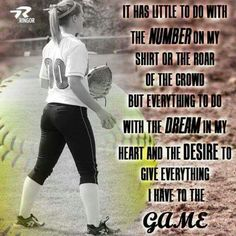 For my Megan - She is such a great ball player !!!