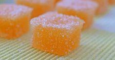 Εξαιρετική συνταγή για Ζελεδάκια λεμονιού ή πορτοκαλιού. Αυτά τα ζελεδάκια, δεν είναι όπως τα αγοραστά. Είναι πολύ πιο μαλακά και πολύ πιο μυρωδάτα!