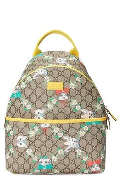 Gucci GG Supreme Canvas Backpack (Kids)  9327d85464