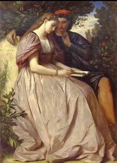 Anselm Feuerbach   Paolo e Francesca1864