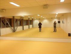 spiegelwand danszaal