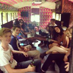 The Maze Runner cast!