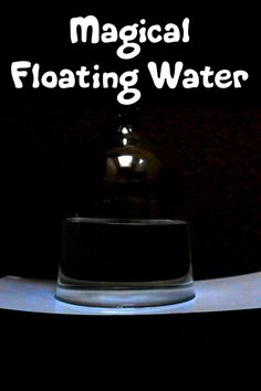 Magical floating water
