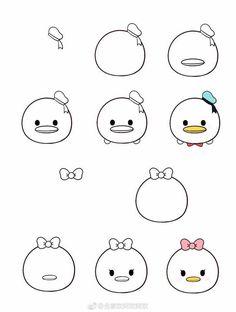 my weblog: How to draw Tsum Tsum? Disney Drawings, Art Drawings, Drawings