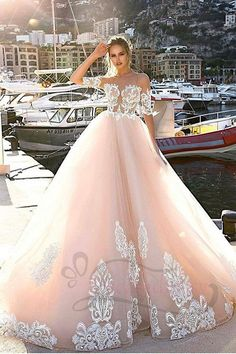 Open-Minded Sweet 16 Ball Gowns 100% Real Photo In Stock Luxury Applique Quinceanera Dresses New Arrivals Short Sleeves Party Dress Bringing More Convenience To The People In Their Daily Life Quinceanera Dresses