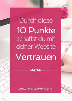Der ultimative 10 Punkte Plan für vertrauenswürdige Websites