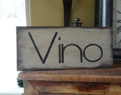 I just want to drink wine and pet my dog! Hand painted wood sign. I made this fun sign because my dog and wine are two of my favorite things:) There is an option with this sign to purchase dog or dogs... some of us are dog lovers:)  This pet and wine lover sign is 11 1/2 x 7 1/2 . It is stained on the front and back, the front has a coat of very light gray paint, the words are done in chocolate brown and a dark red. A coat of polyurethane is painted on and a saw tooth hanger is placed on the…
