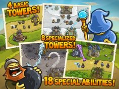 Kingdom Rush, an awesome tower defense free flash game http://2048gamers.com/game/strategy/kingdom-rush#