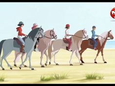 La marche avec zabou et c'est amis Le Ranch, Speed Paint, Disney Wallpaper, Camel, Horses, Cartoon, Heartland, Digital, Drawings