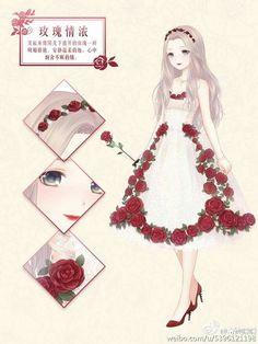 Nikki flower's dress