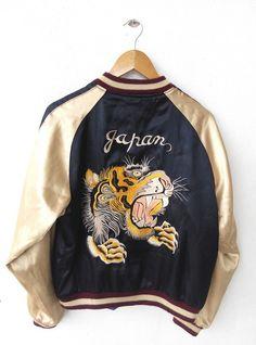 1980 s Vintage SUKAJAN TOYO Enterprise Jacket 80s Fashion 1b5be23c42