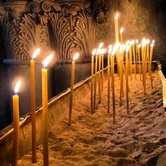 Twitter / theloosh: candles @ church of the holy ...