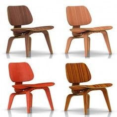 Herman Miller Eames® Molded Plywood Chair - Lounge Chair - Wood Legs - LCW