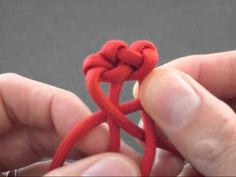 How to Make the Lobster Tail (Paracord) Key Fob by TIAT - YouTube