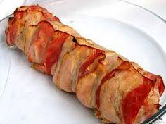 Výsledek obrázku pro pečený vepřový bůček Sushi, Sausage, Grilling, Food And Drink, Low Carb, Bread, Ethnic Recipes, Bucky, Anna