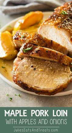 Maple Pork Loin with