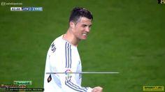 Cristiano Ronaldo Goal Atletico Madrid vs Real Madrid 2 2