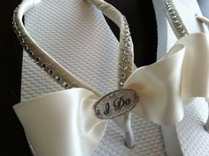 yall know my country girl self has gotta have flip flops for my wedding lol