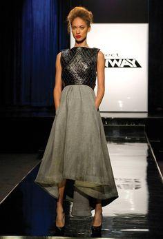 Project Runway Season 11 - the cities challenge - Michelle redeeming look - love her breastplates
