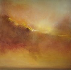 "Saatchi Art Artist Maurice Sapiro; Painting, ""Hammonasset Sunset"" #art"