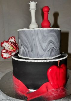Twilight Birthday Cake By LuluSweetArt on CakeCentral.com