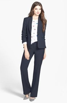 Free shipping and returns on Halogen® Suit Jacket, Cashmere Sweater & 'Taylor' Pants at Nordstrom.com.
