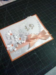 tarjeta de invitación a una boda