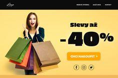 Microsite prodejní akce Logos, Logo