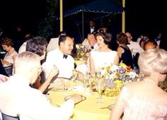 A state dinner at Mt. Vernon, July 11, 1961.