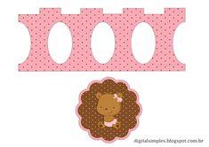 Osita Bebé: Stand para Cupcakes para Imprimir Gratis.