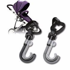 New 2Pcs Baby Stroller Hook Stroller Accessories Prams Hook Hanger for Baby Stroller Accessories