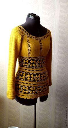Crochet top jumper inspiration only #crochet