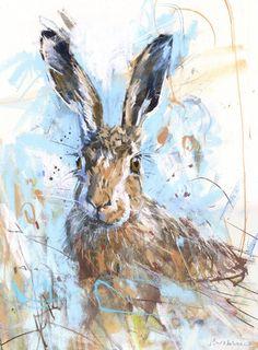 James Bartholomew hare print