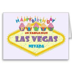 my las vegas birthday party card las vegas birthday cards