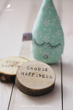 Motivierende Holzdeko für Pessimisten / motivational wooden decoration made by fandoo via DaWanda.com