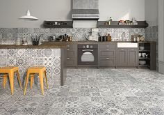 Geotiles Manises Manises (Geotiles) -Geotiles-2, Kitchen, Oriental style, style Patchwork, Pottery, universal, Mate, not rectified